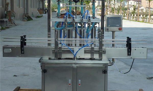 Riempitrice automatica di pasta di arachidi