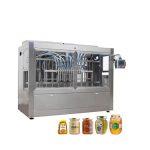 Tappatrice di riempimento automatica del miele del barattolo di vetro