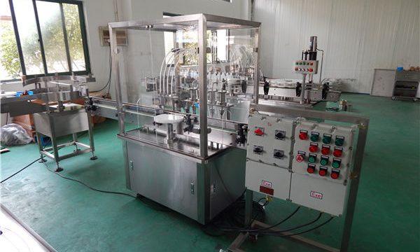 Riempitrice automatica di liquidi ad alta viscosità