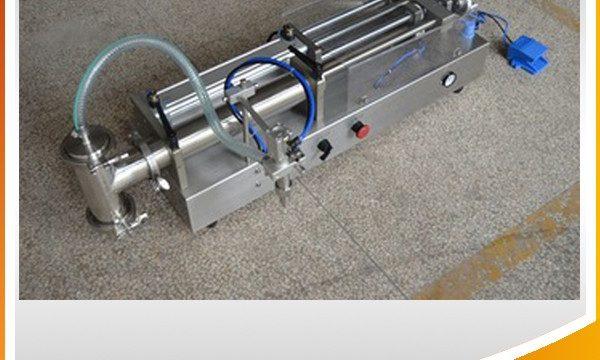 Riempitrice semi-automatica a pistone Riempitrice ad olio ideale