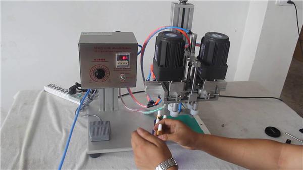 Produttore di tappatrici pneumatiche completamente automatiche