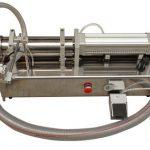 Riempitrice semi automatica di miele ad alta viscosità