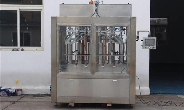 Riempitrice automatica di bottiglie di marmellata