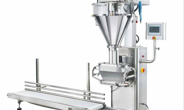 Riempitrice semi-automatica di latte in polvere