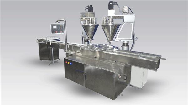 Polvere riempitrice automatica per caffè a 6 teste