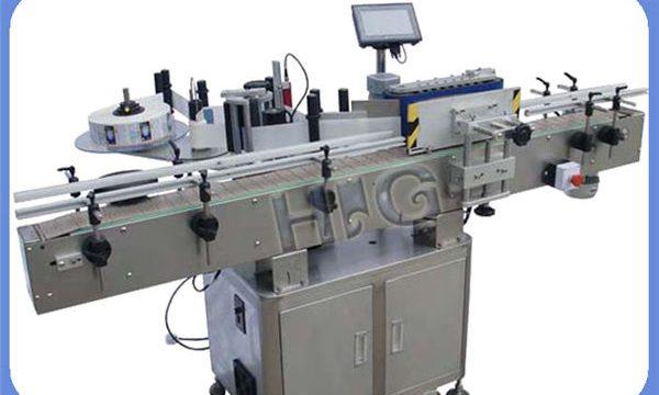 Produttore automatico dell'etichettatrice della bottiglia rotonda di NPACK con la stampante