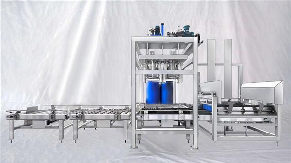Riempitrice automatica a tamburo di grande capacità ESDF serie 100-1000L personalizzabile
