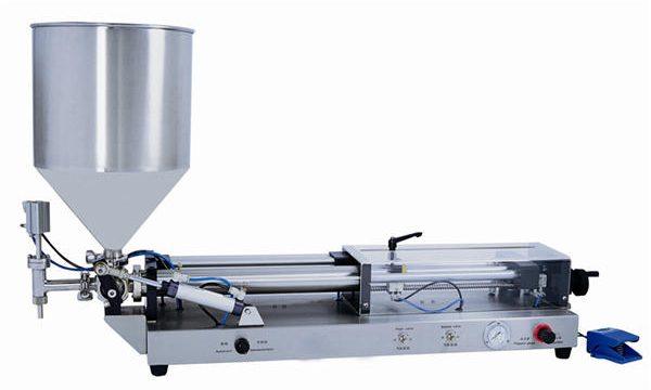 Riempitrice semi-automatica di pasta per 3mL-5L