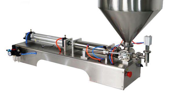 Riempitrice di salsa spessa a pistone semiautomatico