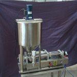 Riempitrice di liquido semiautomatica a 2 teste